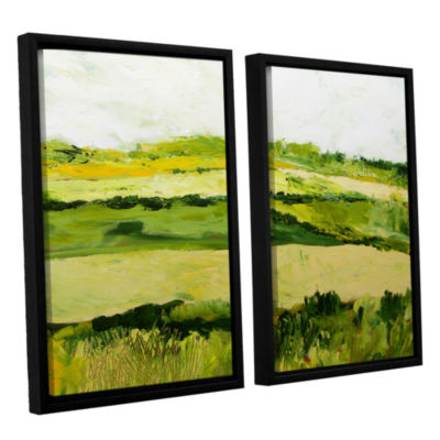 Brushstone Cottonworth 2-pc. Floater Framed CanvasWall Art