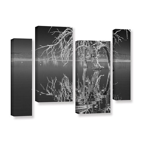 Brushstone Dead Arch Black and White 4-pc. Canvas Art