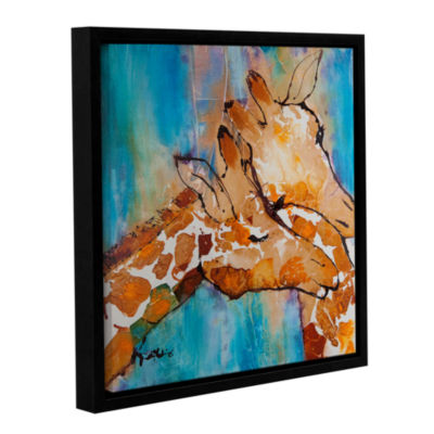Brushstone Cuddle II Gallery Wrapped Floater-Framed Canvas Wall Art