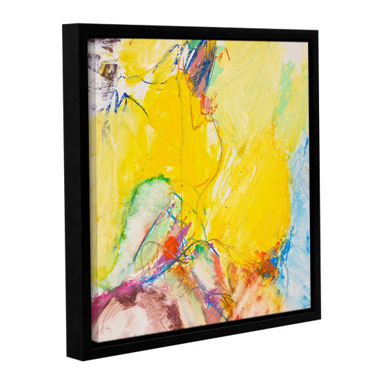 Brushstone Crystal Gallery Wrapped Floater-Framed Canvas Wall Art