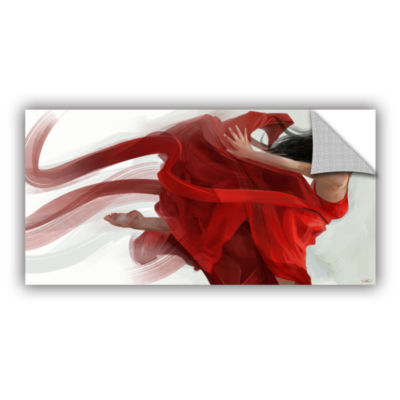 Brushstone Dance Removable Wall Decal