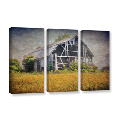 Brushstone Brushstone Country Barn 3-pc. Gallery Wrapped Canvas Wall Art