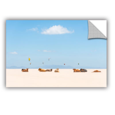 Brushstone Cows And Kites Removable Wall Decal