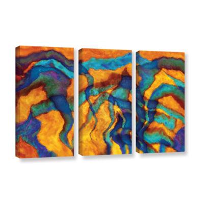 Brushstone Brushstone Cross Currents 3-pc. GalleryWrapped Canvas Wall Art