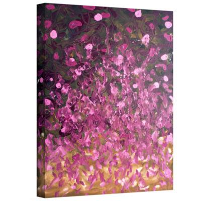 Brushstone Dark Forest Canvas Art