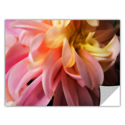 Brushstone Dahlia Study Removable Wall Decal
