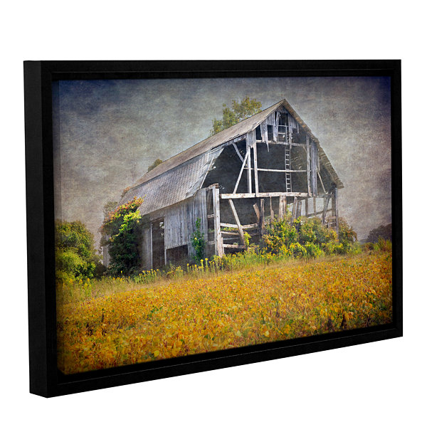 Brushstone Country Barn Gallery Wrapped Floater-Framed Canvas Wall Art