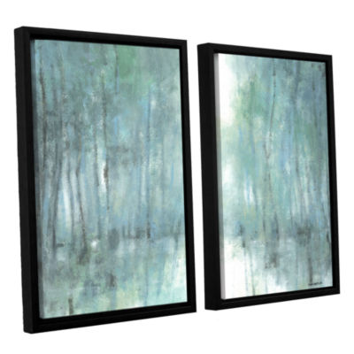 Brushstone Crisp Breeze 2-pc. Floater Framed Canvas Wall Art