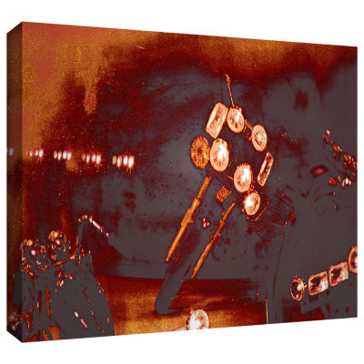 Brushstone Brushstone Cycles And Smoke Gallery Wrapped Canvas Wall Art