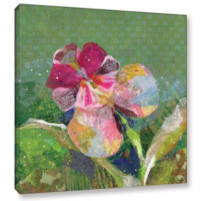 Brushstone Dancing Orchids III Canvas Art