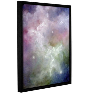 Brushstone Dancing Angels Gallery Wrapped Floater-Framed Canvas Wall Art