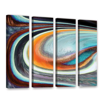 Brushstone Currents 4-pc. Gallery Wrapped Canvas Wall Art