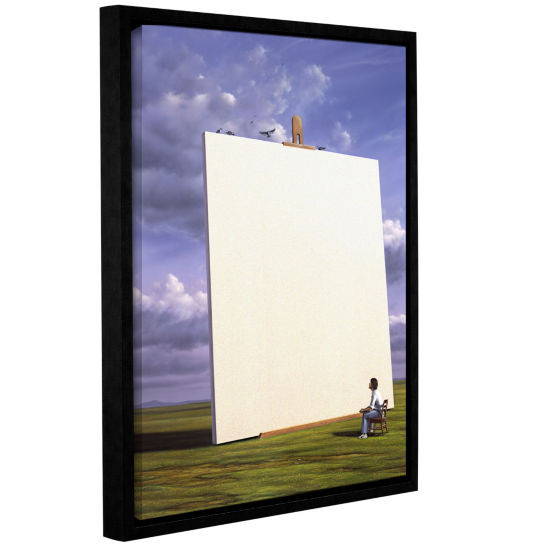 Brushstone Creative Problems Gallery Wrapped Floater-Framed Canvas Wall Art