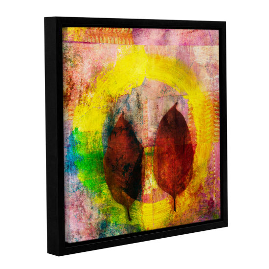Brushstone Cycle Of Life Gallery Wrapped Floater-Framed Canvas Wall Art
