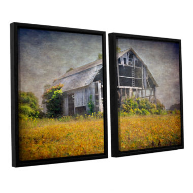 Brushstone Country Barn 2-pc. Floater Framed Canvas Wall Art