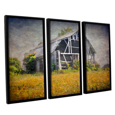 Brushstone Country Barn 3-pc. Floater Framed Canvas Wall Art