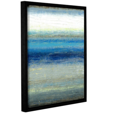 Brushstone Current Gallery Wrapped Floater-Framed Canvas Wall Art
