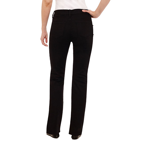 St. John's Bay Secretly Slender Embellished Pearl Straight Jean