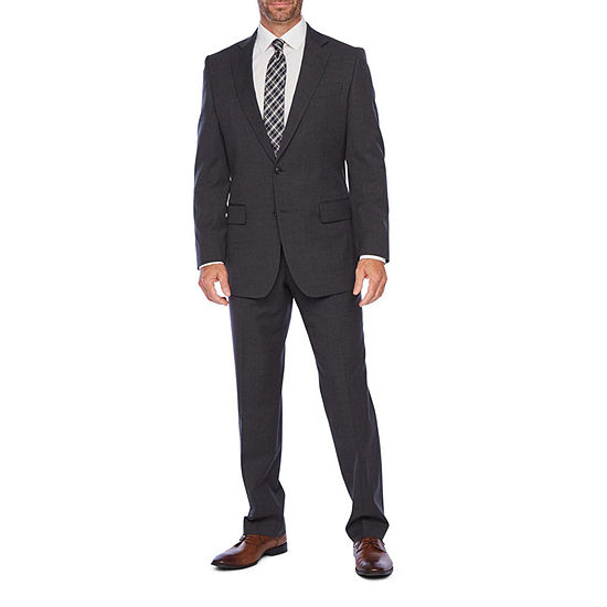 Stafford Super Suit Classic Fit Gray Suit Separates