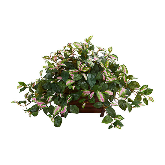 Nearly Natural Hoya Artificial Plant In Decorative Planter
