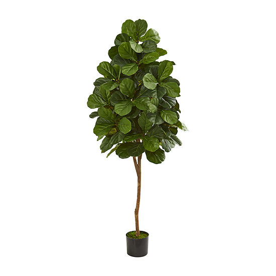 Nearly Natural 6 Fiddle Leaf Fig Artificial Tree