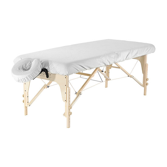 Master Massage Dignity & Luxury Microfiber Table Cover Set 2 Piece Set