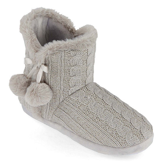 Mixit Mommy and Me Cozy Women's Bootie Slippers