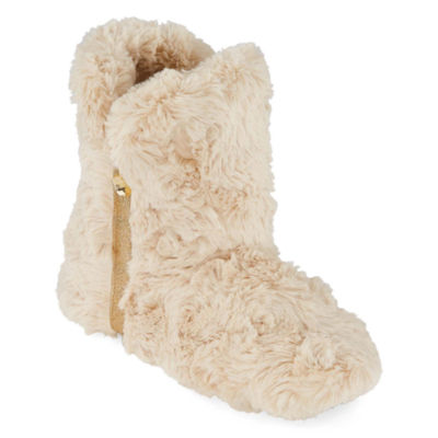 Mixit Mommy and Me Cozy Women's Furry Bootie Slippers