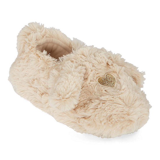 Mixit Mommy and Me Cozy Child Furry Slippers