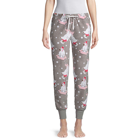 Pj Couture Womens Microfleece Pajama Pants