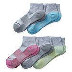 Copper Fit 5 Pair Quarter Socks Womens
