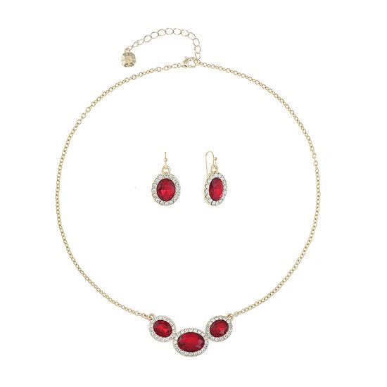 Monet Jewelry 2-pc. Red Jewelry Set
