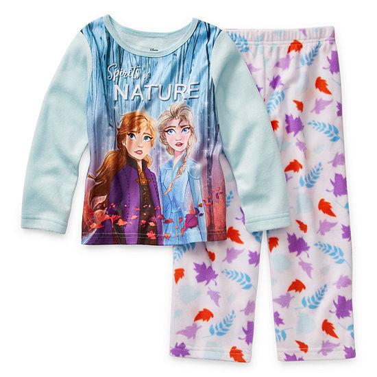 Disney Girls 2-pc. Frozen 2 Pant Pajama Set Toddler