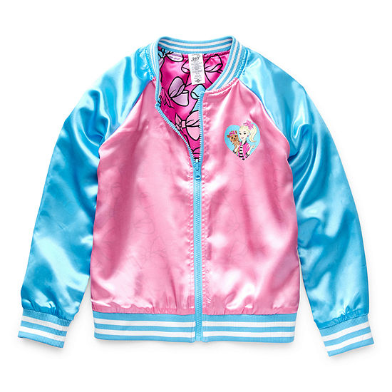 Jojo Siwa Girls Lightweight Bomber Jacket Preschool / Big Kid