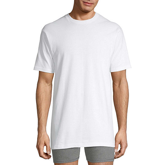 Stafford Mens 4 Pack Short Sleeve Crew Neck T-Shirt