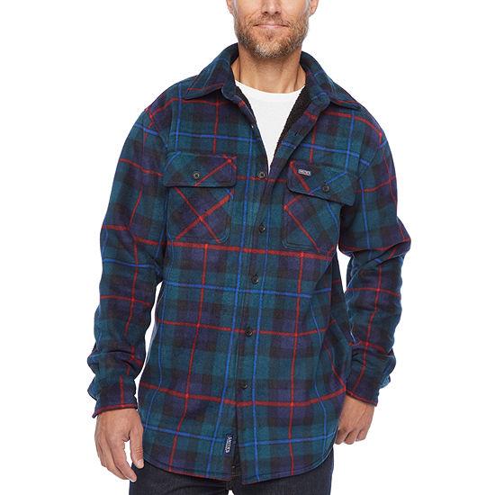Smith Sherpa Lined Micro-Fleece Shirt Jacket