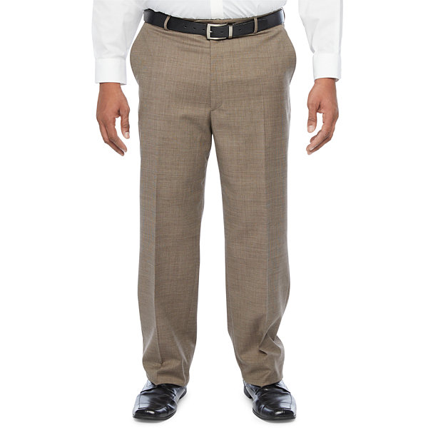 Stafford Super Suit Stretch Suit Pants