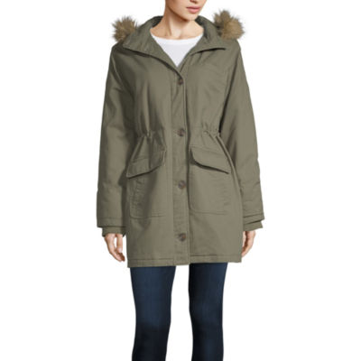 Arizona Twill Heavyweight Parka Juniors