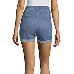 "a.n.a Womens High Waisted 3 1/2"" Denim Short"
