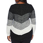 Alyx Womens Mitered Sweater - Plus