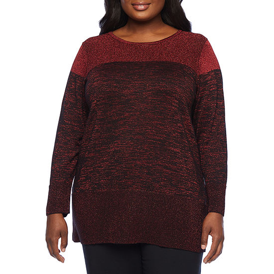Alyx Womens Ombre Sweater - Plus