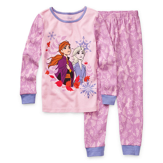 Disney 2-pc. Pajama Set Girls- Frozen 2