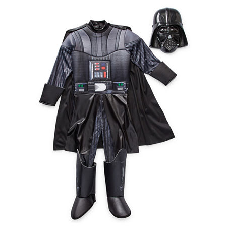 Star Wars Darth Vader Costume – Kids, X-small , Black