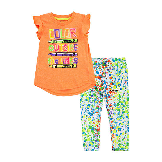 Crayola Baby Girls 2-pc. Legging Set