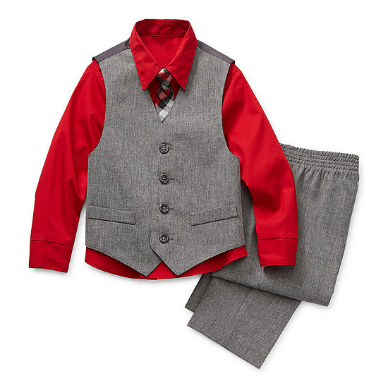 Van Heusen Toddler Boys 4-pc. Pant Set