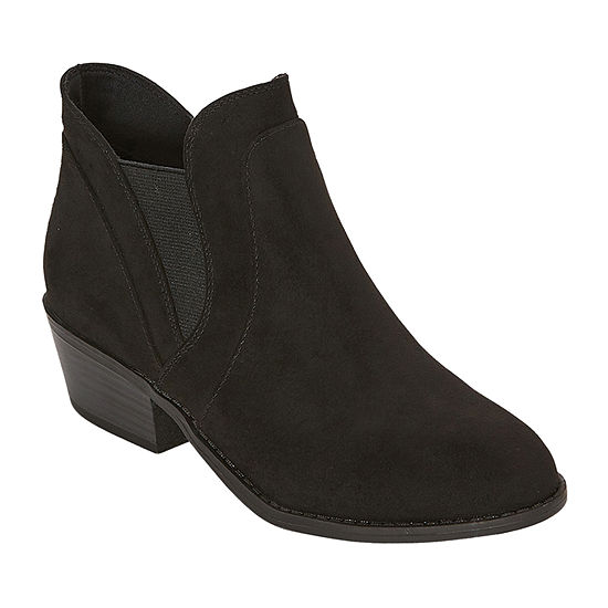 Arizona Womens Chorus Chelsea Boots Block Heel
