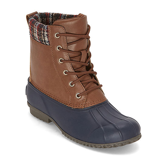 St. John's Bay Womens Riverbend Lace Up Boots