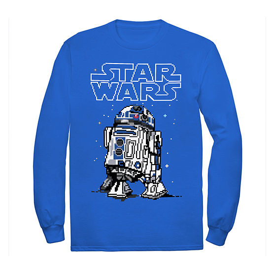 Disney Little & Big Boys Crew Neck Star Wars Long Sleeve Graphic T-Shirt