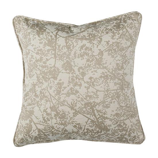 Safavieh Simona Natural Square Throw Pillow