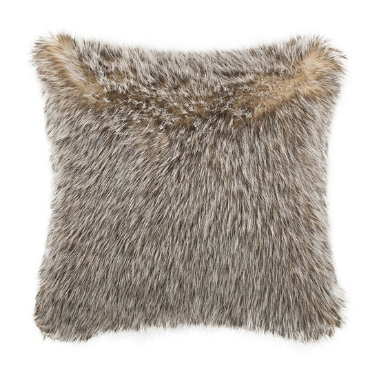Safavieh Dusty Grey Square Throw Pillow